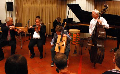 Teil des Accompagnato-Ensembles. Foto: Gerhard Schindler