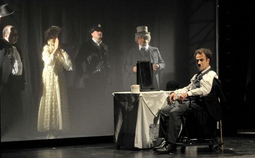 """Welcome Mister Chaplin"", Théâtre Eurydice. Foto: Markus Niethammer"