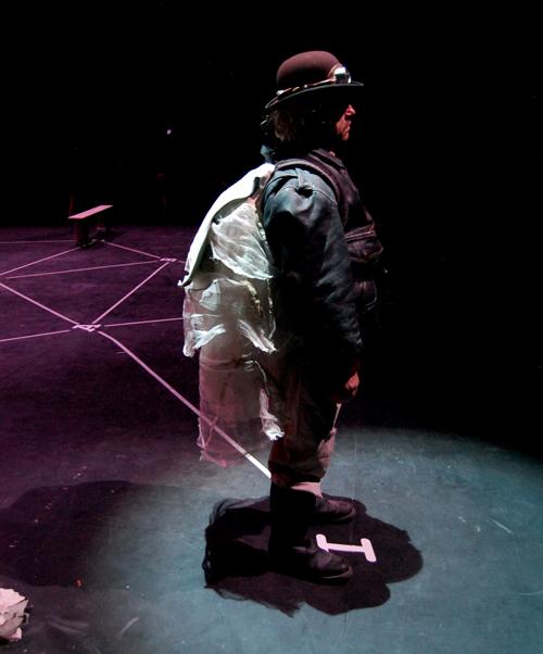 Die Compagnie Création Ephémère aus Millau hat eine Hommage an Samuel Beckett im Gepäck. (Foto: Cécile Flahaut)