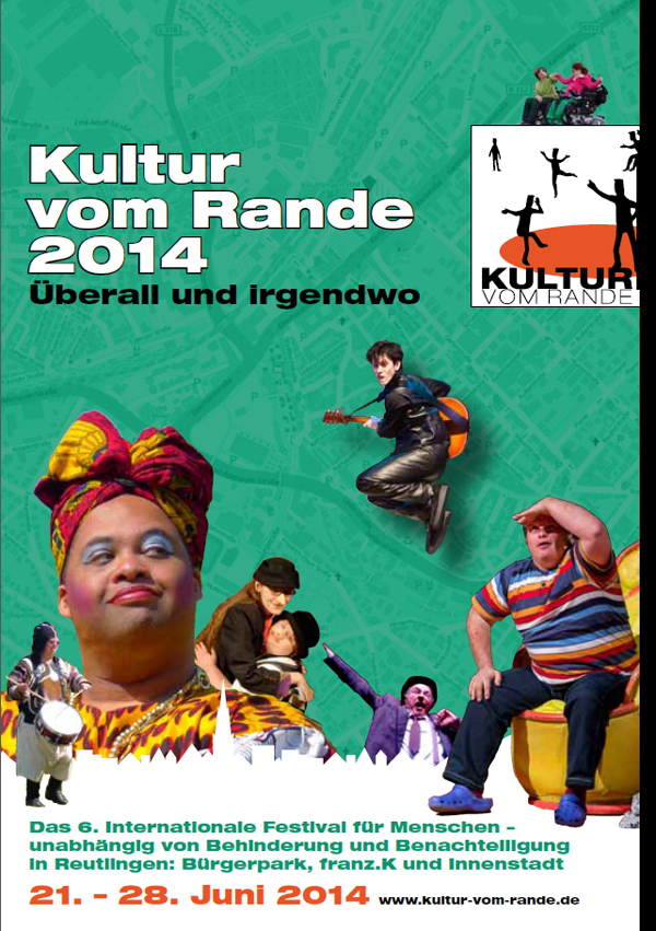 Titel des Programmhefts zum Festival Kultur vom Rande 2014