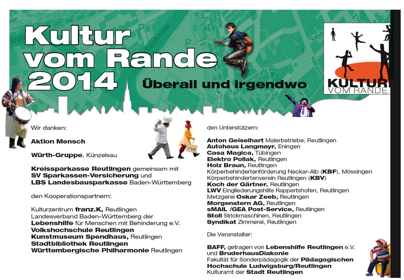 Kultur vom Rande 2014 - Danke