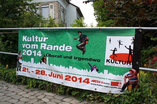 Plakat fürs Festival im Kaffeehäusle-Garten. [Foto: Gerhard Schindler]