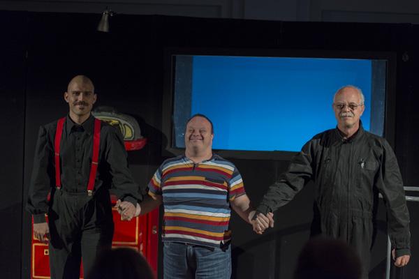"Das Teatro Pirata aus Jesi mit ""Voglio la luna!"" [Foto: Bastian Rittmann]"