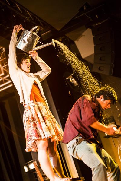 """Danza Mobile bei Kultur vom Rande 2014 mit """"Una Ciudad Encendida"""". [Foto: Katharina Meier]"""