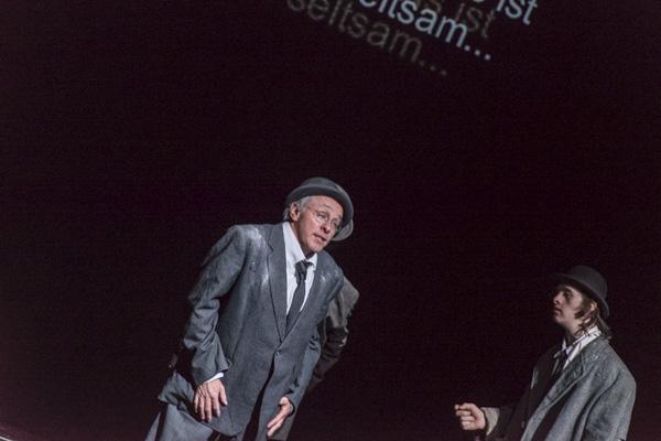 Die Beckett-Hommage der Compagnie Création Ephémère. [Foto: Bastian Rittmann]