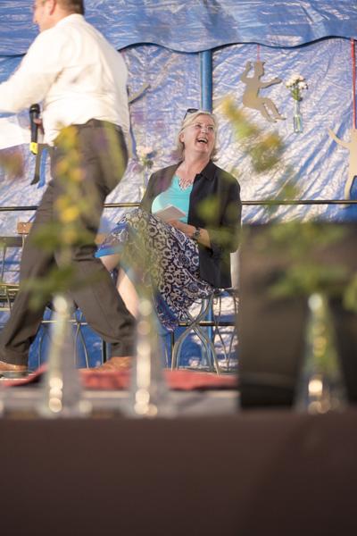 """Reutlingens Erste Bürgermeisterin Ulrike Hotz unterstrich, das Festival Kultur vom Rande sei ein """"Alleinstellungsmerkmal"""" für Reutlingen. [Foto: Katharina Meier]"""