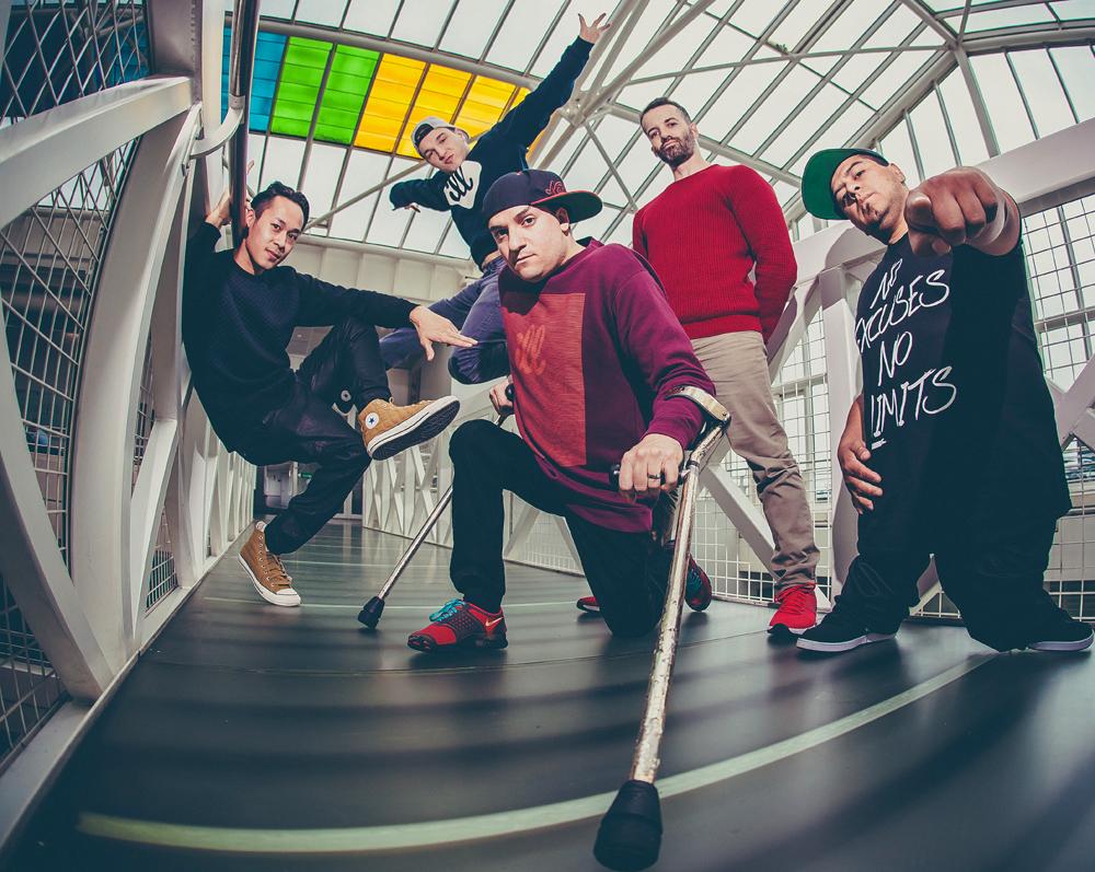 Die ILL-Abilities-Crew (Foto: Homard Domshine Payette)
