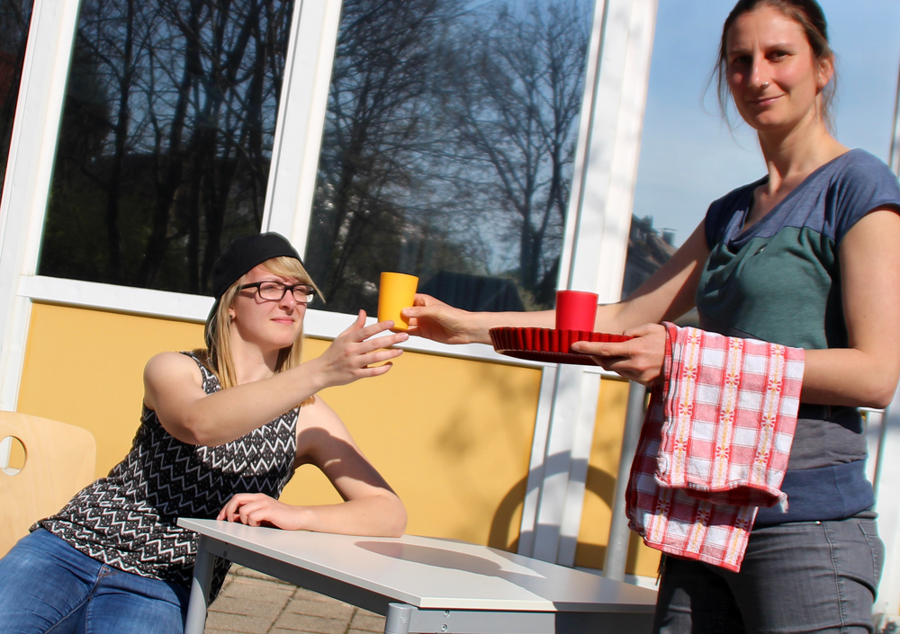 """""""Café kurios"""" der Peter-Rosegger-Schule aus Reutlingen."""
