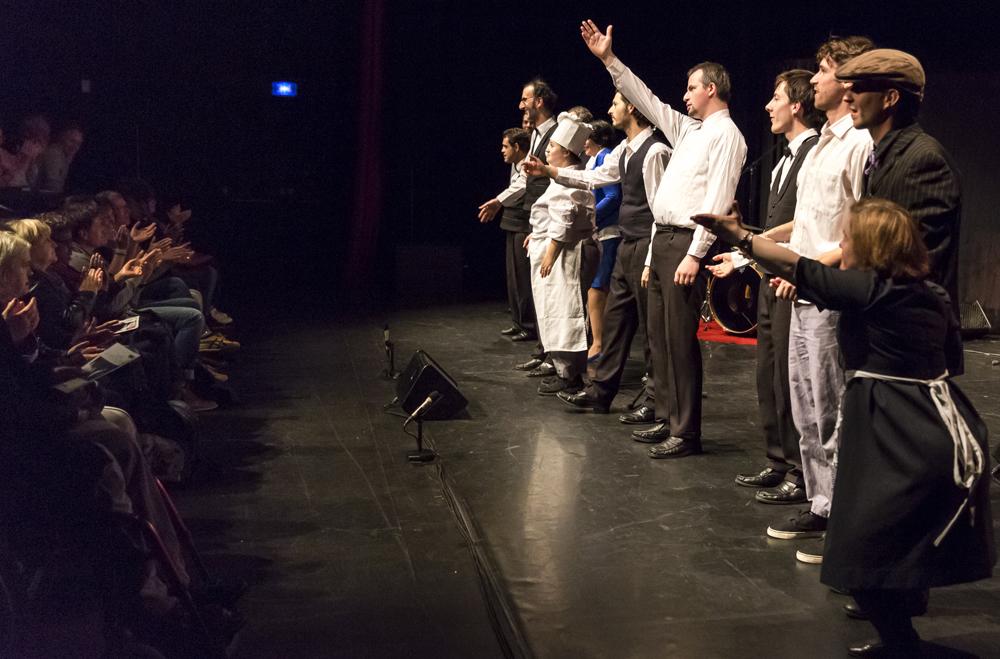 Auch das Théâtre du Cristal wird am Ende Applaus bekommen. (Foto: Alexandra Lebon)
