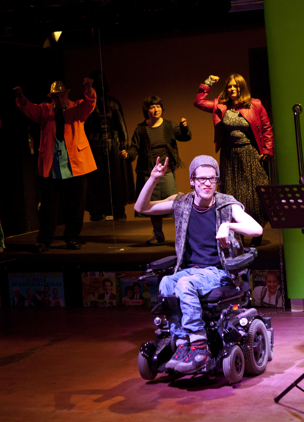 """""""Irre ist menschlich"""" von Theater Reutlingen Die Tonne. (Foto: Karen Schultze)"""
