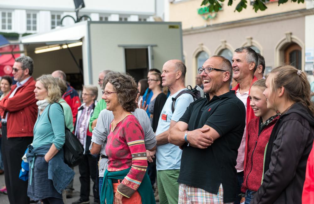 Singen macht fröhlich. (Foto: Alexander K. Müller, media&more)