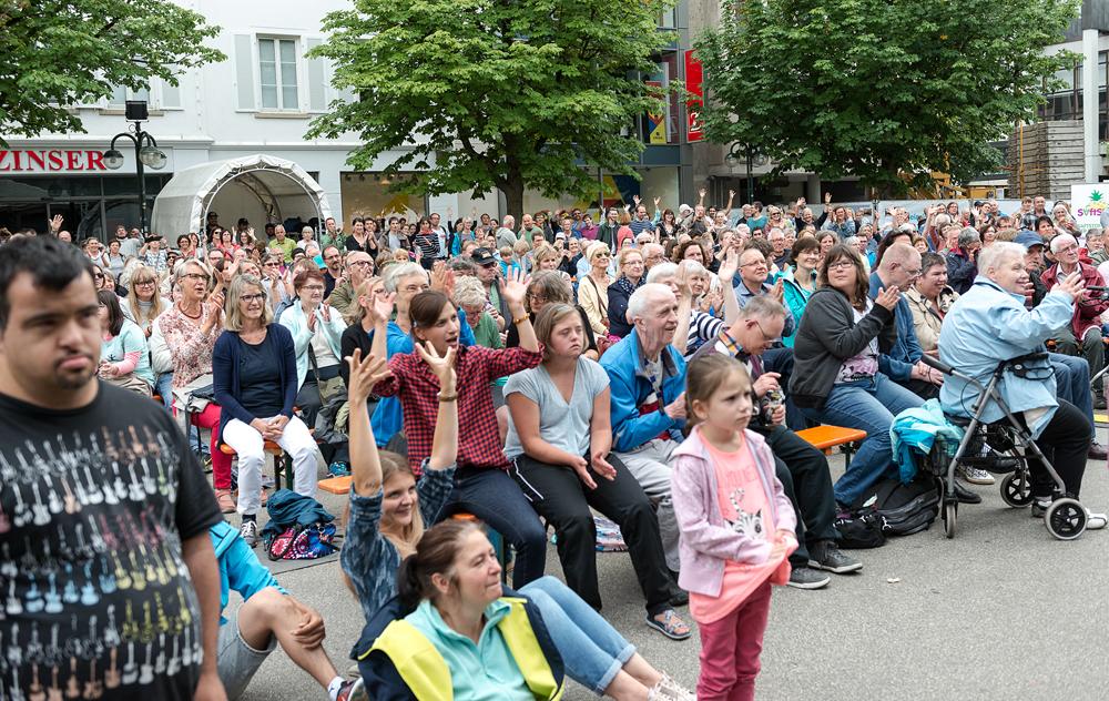 Singen hält beweglich. (Foto: Alexander K. Müller, media&more)