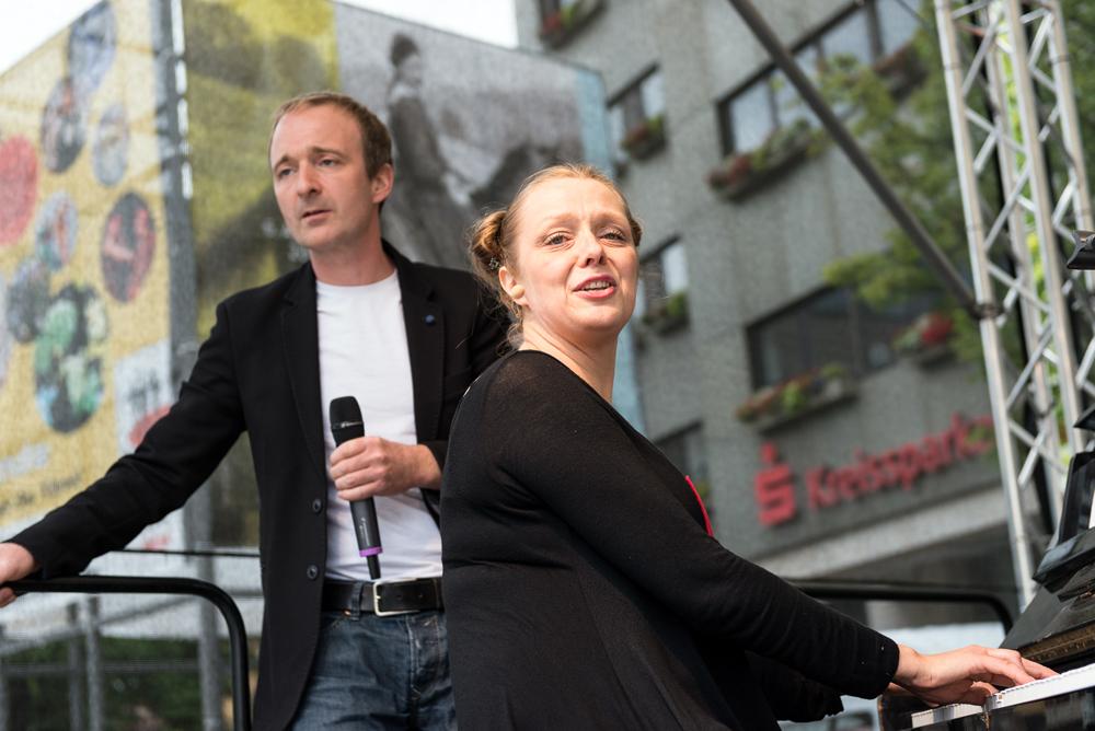 Mit Hingabe und Leidenschaft: Patrick Bopp und Sanna Valvanne. (Foto: Alexander K. Müller, media&more)
