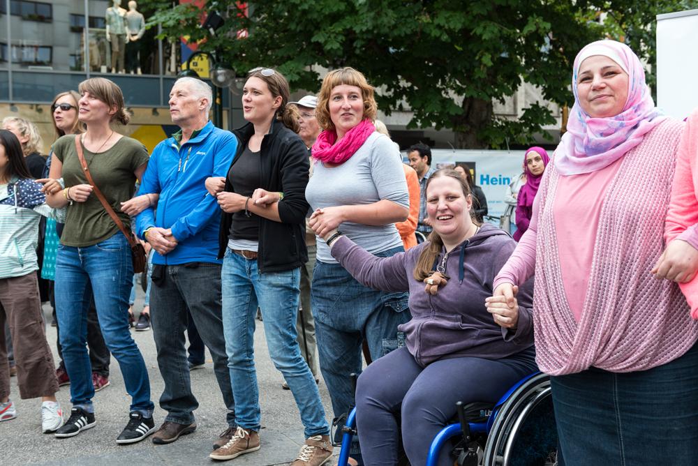 Singen verbindet. (Foto: Alexander K. Müller, media&more)
